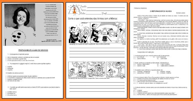 Atividades prontas para imprimir para trabalhar gêneros textuais com alunos do Ensino Fundamental.