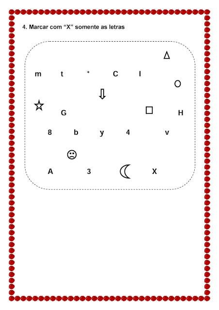 Avaliação de Linguagem Infantil para imprimir