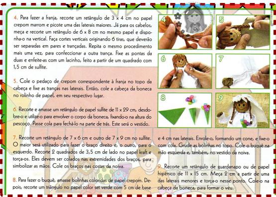 Festa Junina - Noivinhos do São João passo a passo
