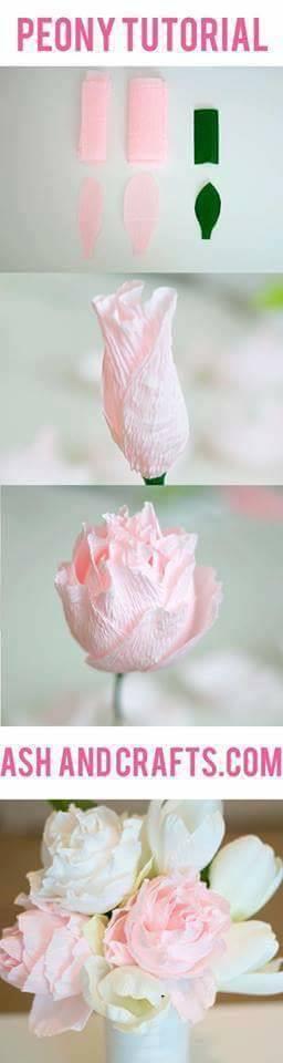Flores de Papel, ideias e passo a passo