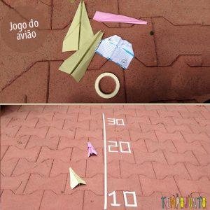 Ideias de brincadeiras com fita crepe