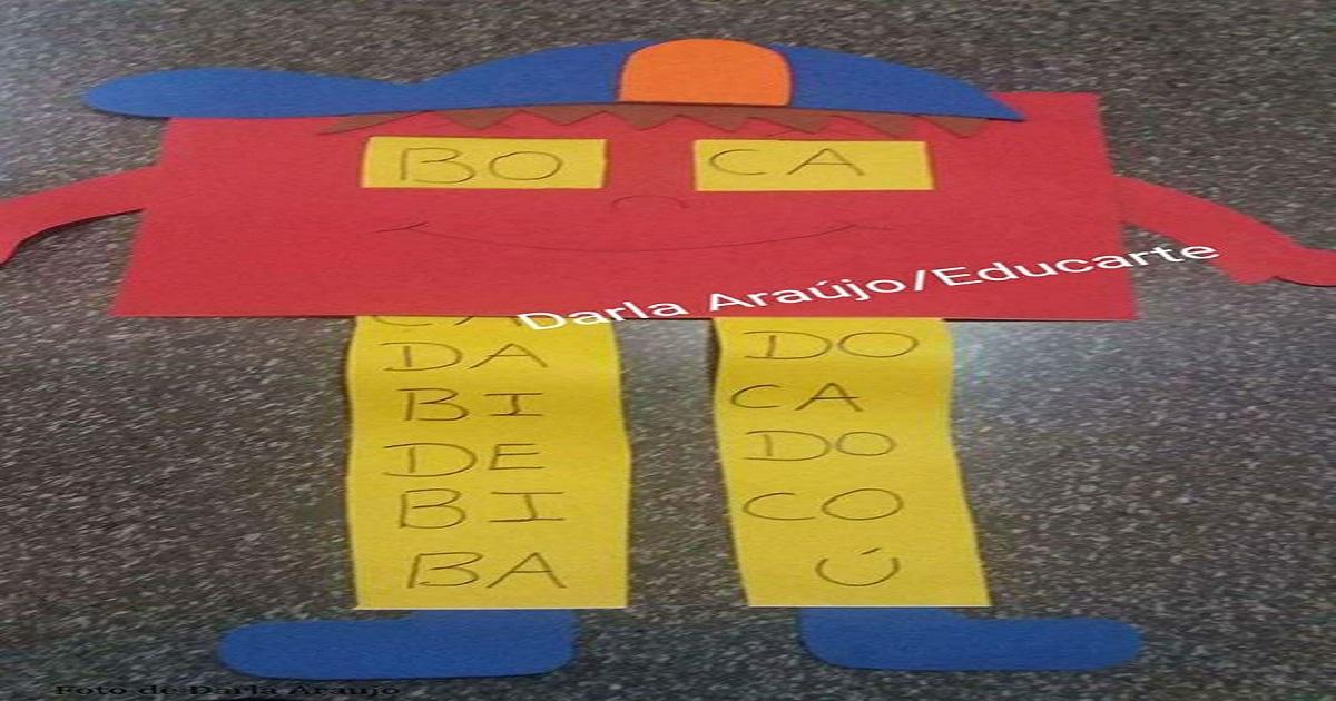 Jogo das famílias silábicas - Trabalhando alfabetização de forma lúdica