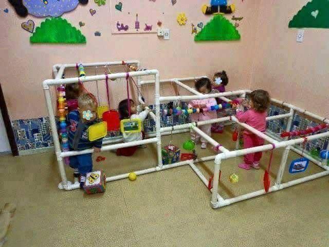 Ideias para trabalharsensibilidade com os bebês