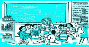 Ampliação das capacidades de leitura e escrita dos alunos do ensino fundamental