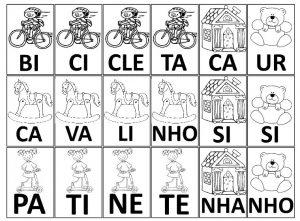 Forma Palavras Jogo Pedagogico Para Alfabetizacao So Escola