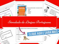 Simulado de Língua Portuguesa para 1º e 2º ano do Ensino Fundamental