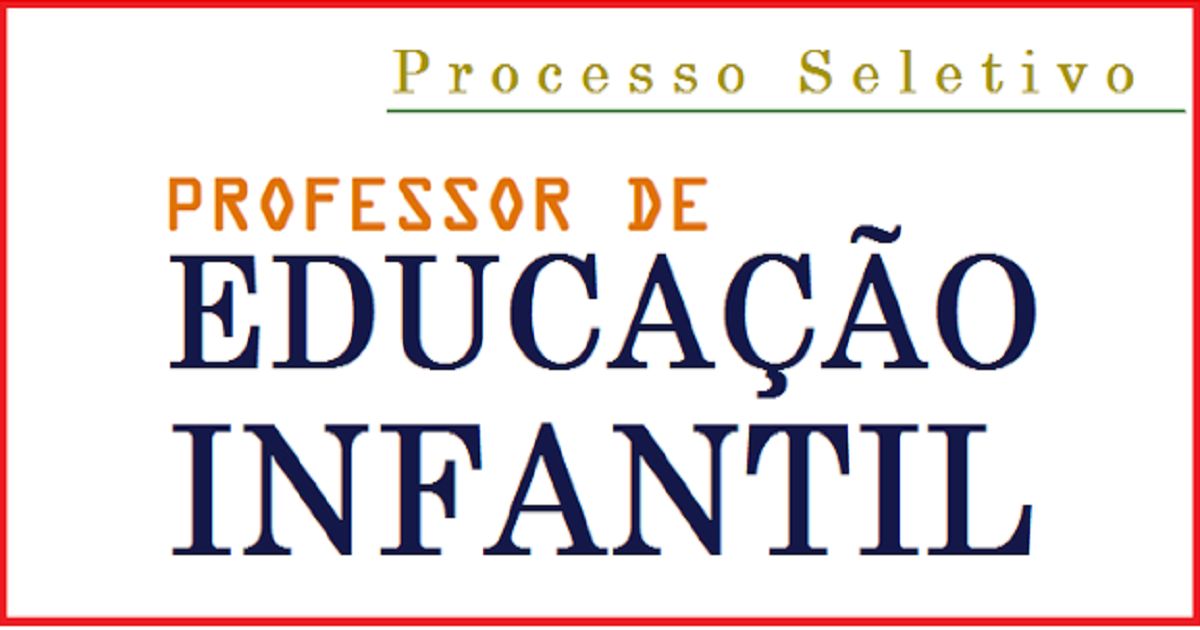 Vagas para professores de Educação Infantil em SP