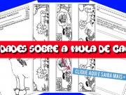 Atividades sobre a mula de cabeça - Folclore Brasileiro