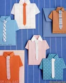 Caixa e Camiseta para o Dia dos Pais: Lembrancinhas com moldes