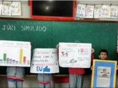 Crianças debatem 'jeitinho brasileiro' em projeto sobre corrupção