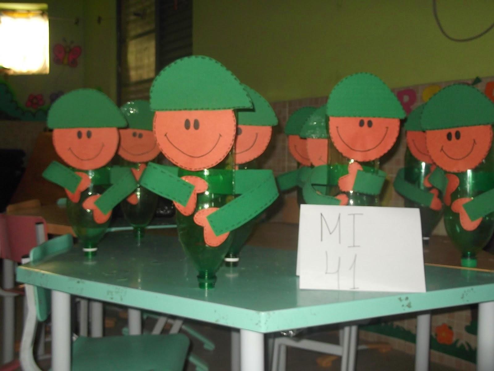Projeto para o Dia do Soldado para Educação Infantil e Ensino Fundamental