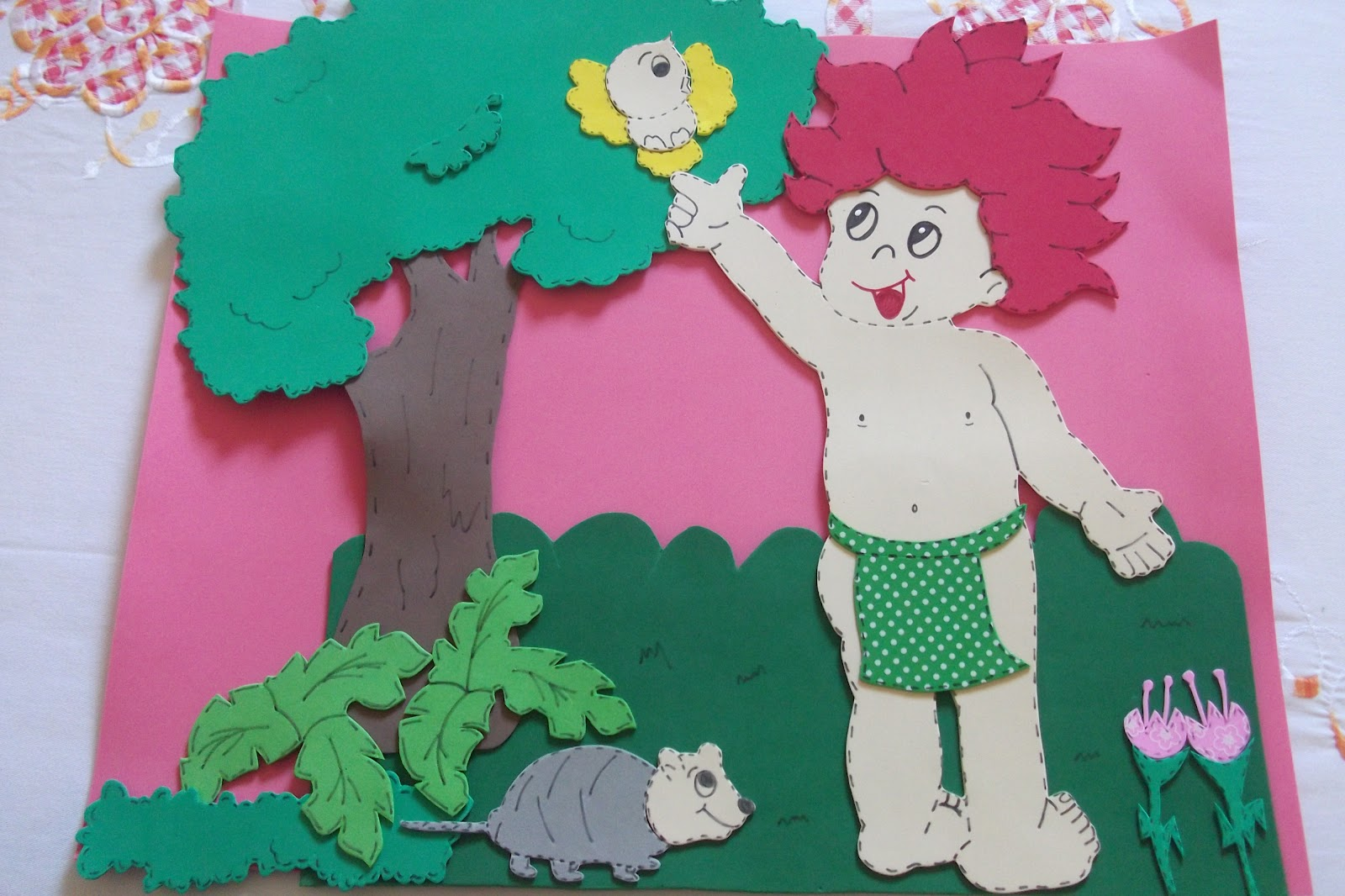 Painéis e Murais para o Dia do Folclore - Ideias, Sugestões e Moldes