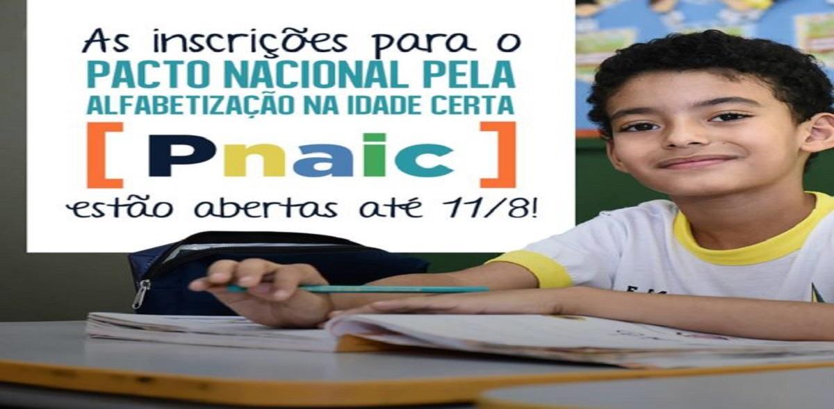 Inscrições para PNAIC 2017