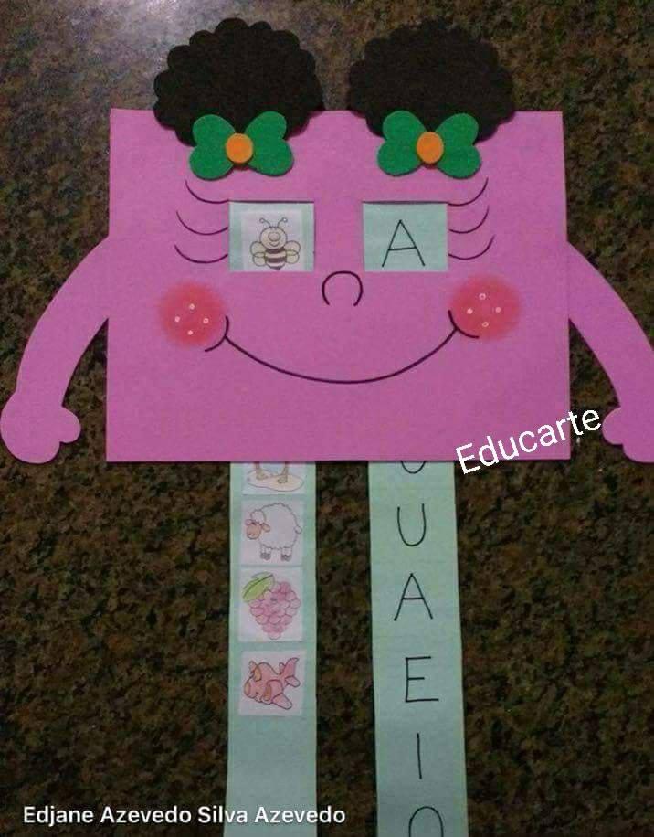 Jogo Das Vogais Associando Letras E Imagens So Escola