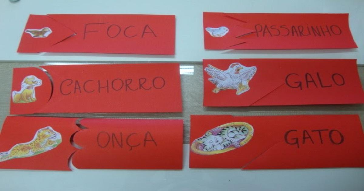 Jogo forma palavras: Associação de letras e formação de palavras
