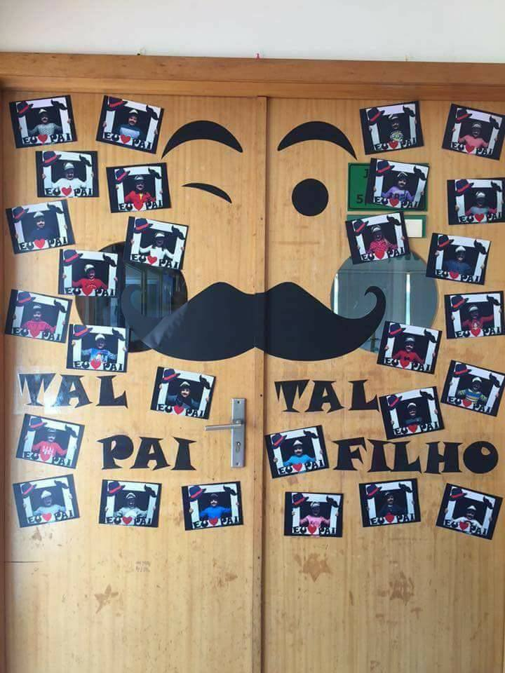 Ideias para murais comemorativos ao dia dos pais