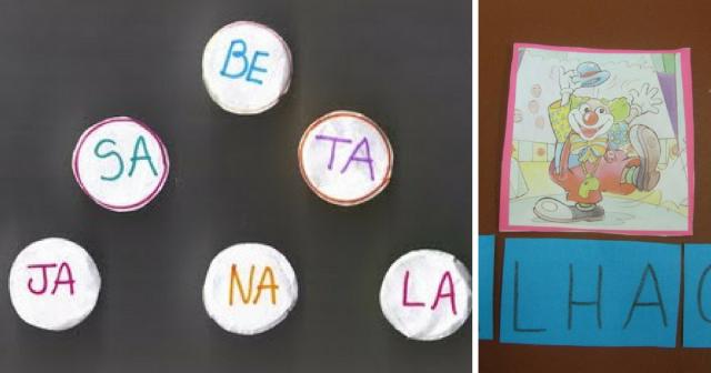 Sugestões de Jogos das Silabas para alfabetização