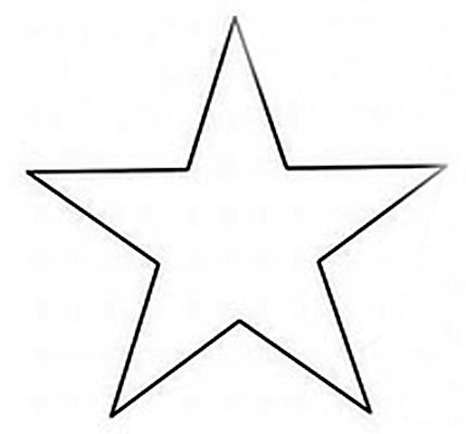 Lembrancinha de Porta retrato de eva para o Dia dos Pais: Estrela
