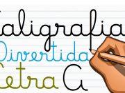Apostila de Atividades de Caligrafia com Letras Cursivas: Baixe em PDF