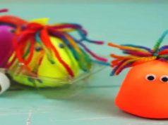 Bonequinhos sensoriais de bexiga: Aprenda como fazer