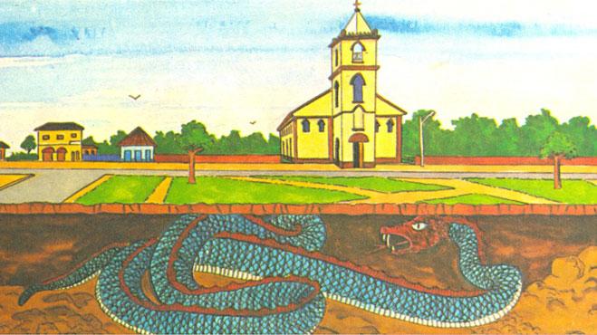Cobra Grande: Lenda do Folclore Amazônico.