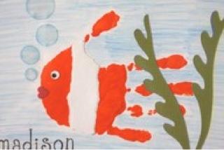 28 Ideias de Carimbos com as mãos: Pinturas de Mão