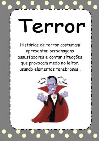 Genero Textual Terror So Escola