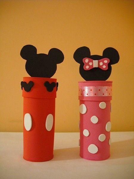 Ideias de artesanato com rolinhos de papel higi nico s for Accesorio para papel higienico
