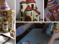 Ideias de Castelos Reciclado de Garrafas: refrigerantes, óleo e outros