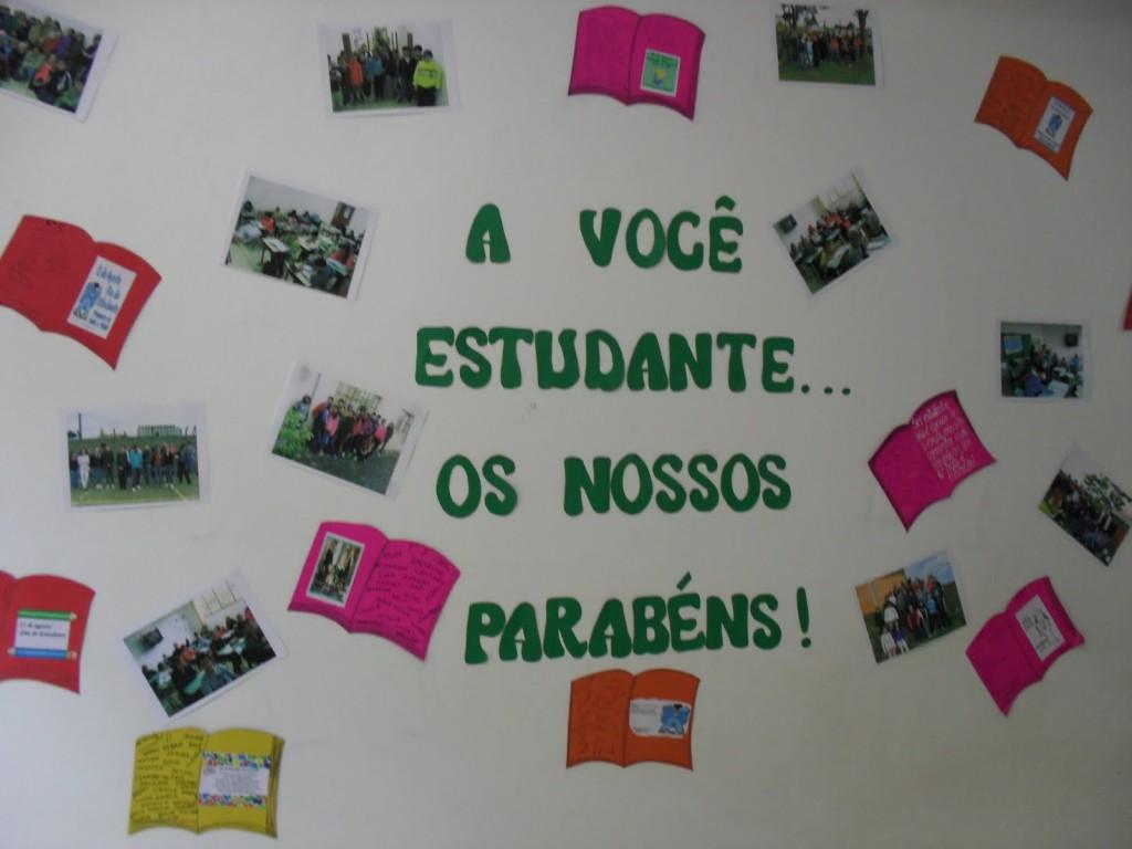 Ideias de murais para o Dia do Estudante: 11 de agosto.