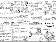 Livrinho de mão sobre o Folclore para imprimir