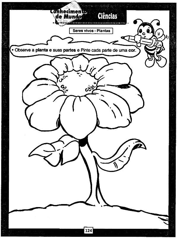 Sequência de Atividades da primavera para imprimir