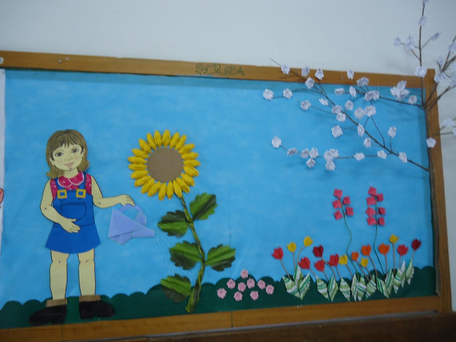 15 ideias de murais e paineis para primavera 6 s escola for Mural dos sonhos o segredo