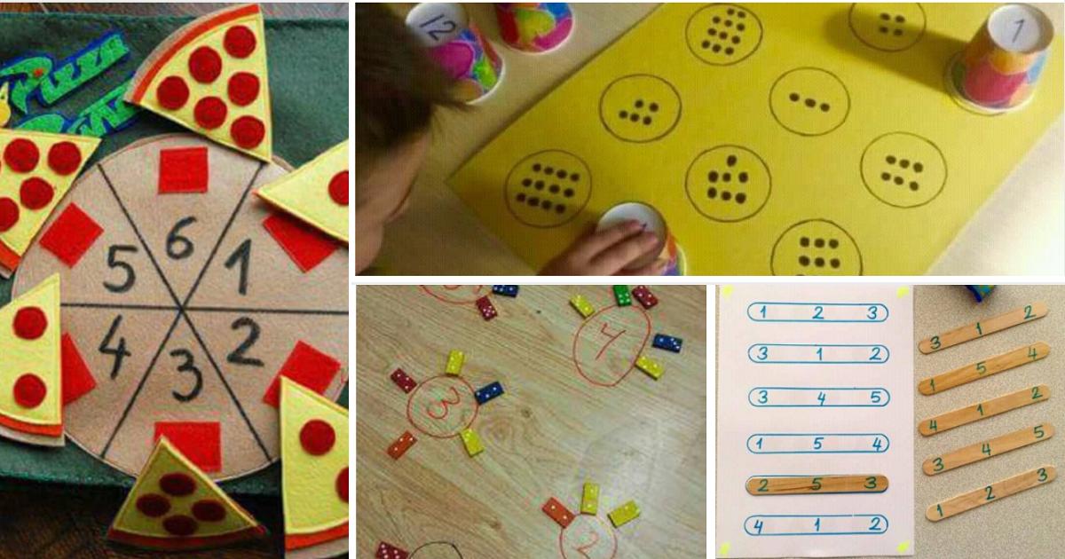 8 Ideias Lúdicas para trabalhar matemática com alunos das series iniciais.