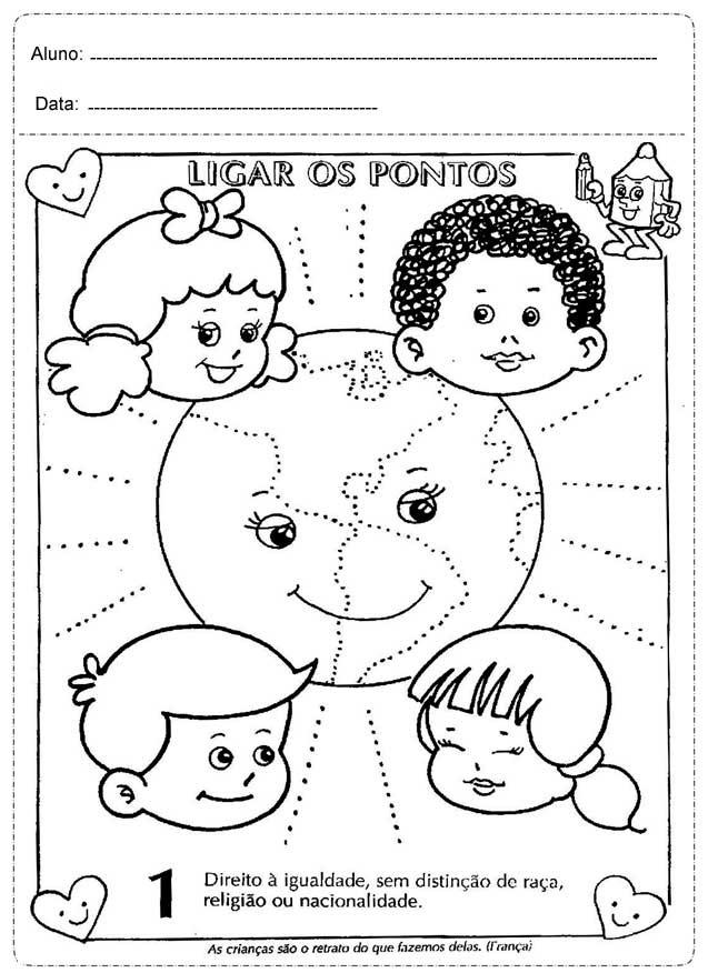 Desenhos Para Imprimir E Colorir Dia Das Criancas So Escola