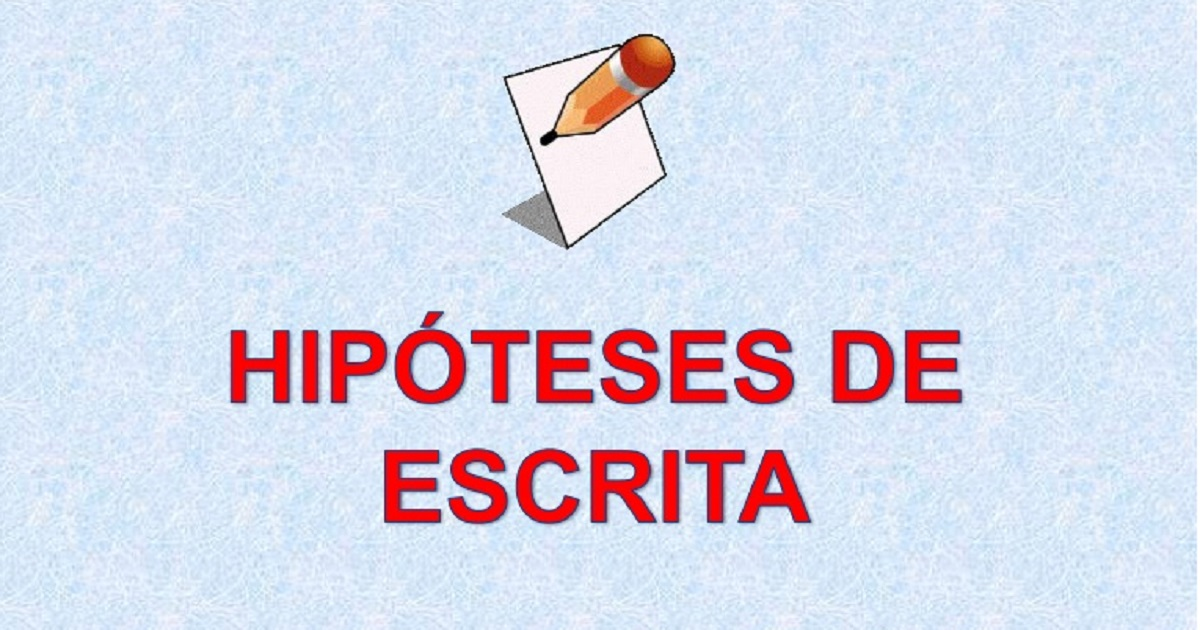 Ideias de Atividades por Hipótese de Escrita