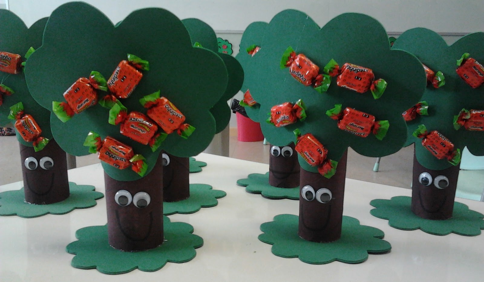 Lembrancinhas para o dia da árvore