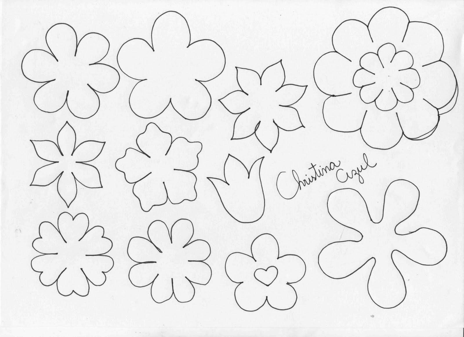 Ideias de Murais e Painéis para a Primavera: Moldes para imprimir.