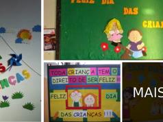 Murais Dia das Crianças: Ideias e Modelos.