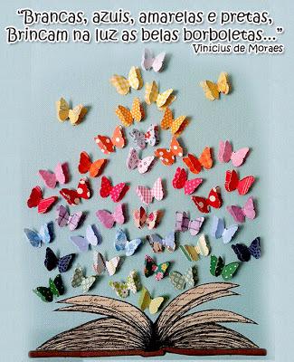 Mural para primavera com borboletas de papel