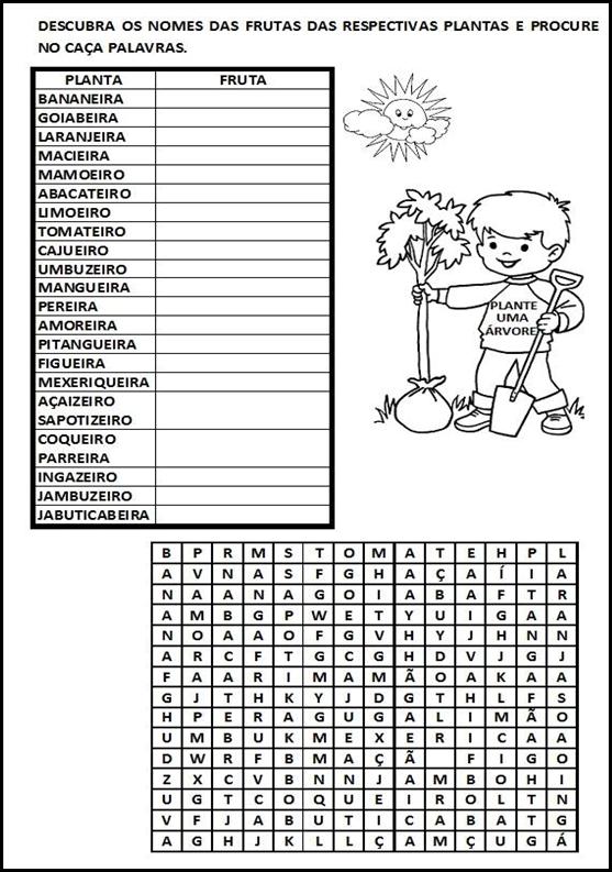 Texto Informativo Sobre O Dia Da árvore Com Atividades Só Escola