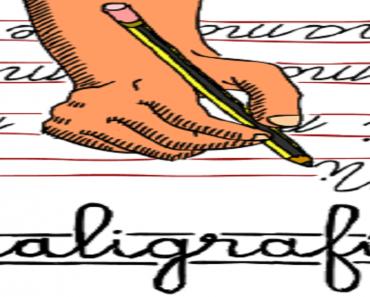 Caligrafia - Trabalhos escolares - Conceito de Caligrafia - Atividades.