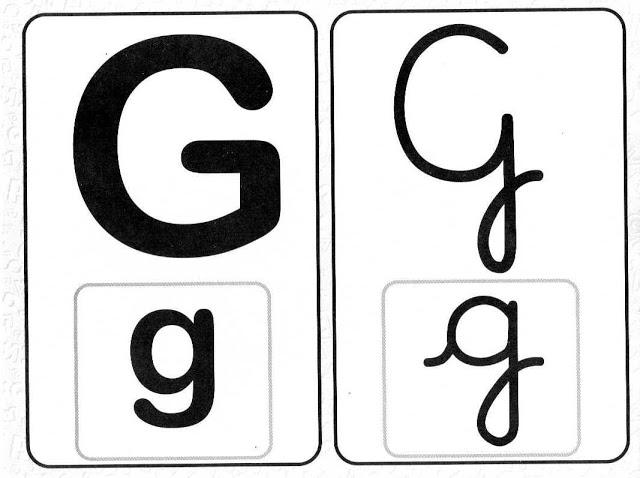 Alfabeto com todos os tipos de letras - Para Imprimir.