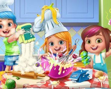 As vantagens de envolver crianças em tarefas culinárias.