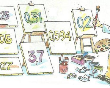 Atividades com Números Decimais - Para Imprimir