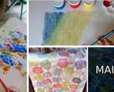 Atividades com Plástico Bolha - Ideias e Sugestões