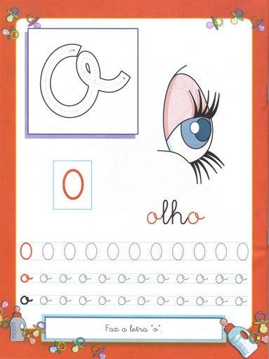 8 Atividades com Vogais - Pontilhado Ilustrado: Vogal O,