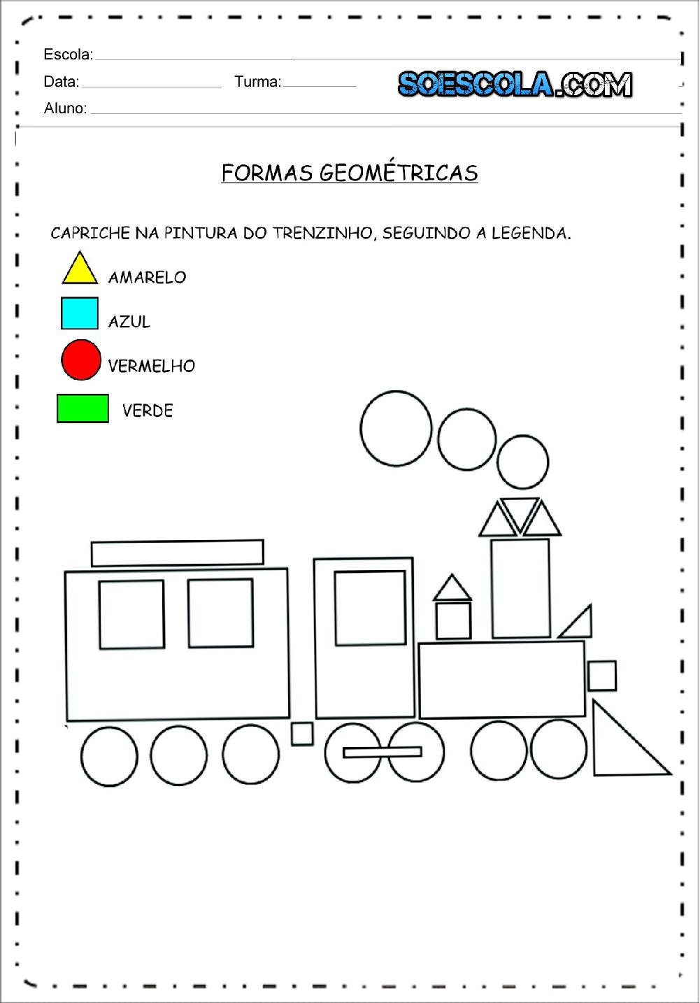 atividades formas geométricas para imprimir baixe em pdf