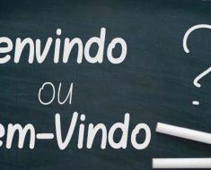 Bem-vindo ou Benvindo? - Como Escrever Certo? Dicas de Português.