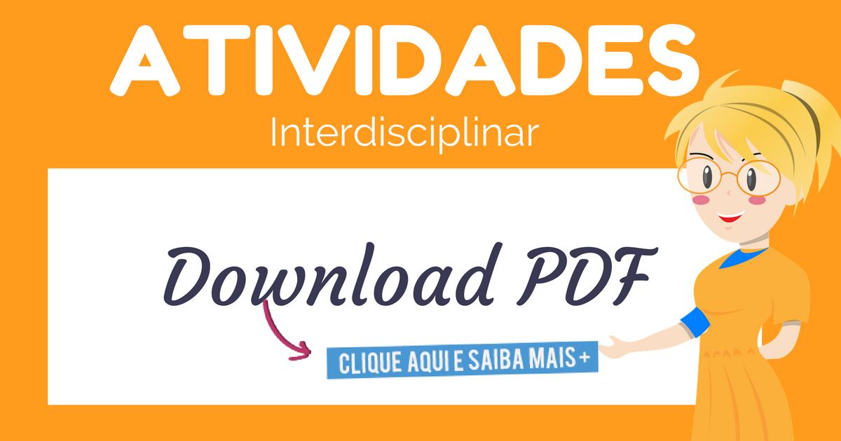 Caderno de Atividades Interdisciplinares em PDF - Ensino Fundamental.